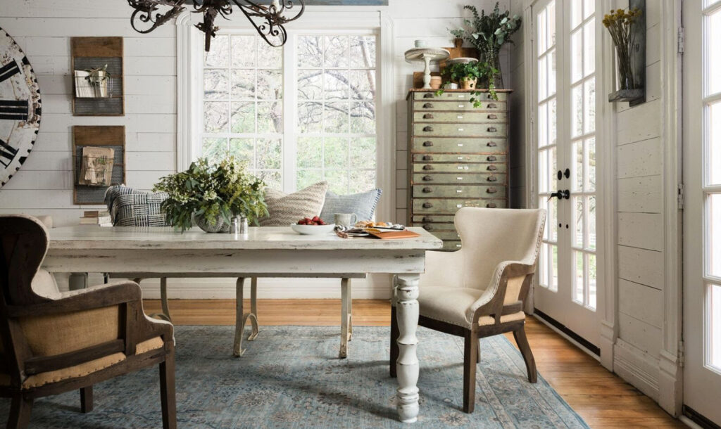 Table with CR Laine furniture
