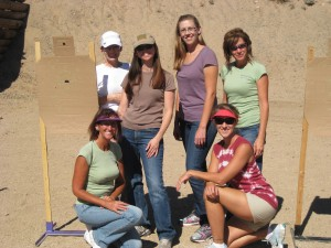 October 2012 Basic Firearms 101 Class - They were an AWESOME group of women!