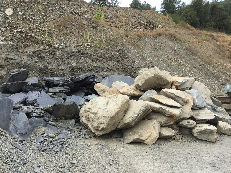 Chili Bar Slate Boulders