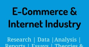 E-Commerce and Internet Industry- MBA E-commerce industry Industry – Sector E Commerce and Internet Industry