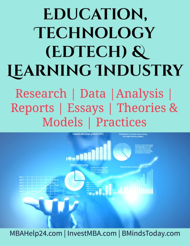Education, Technology (EdTech) and Learning Industry- MBA Education and Technology