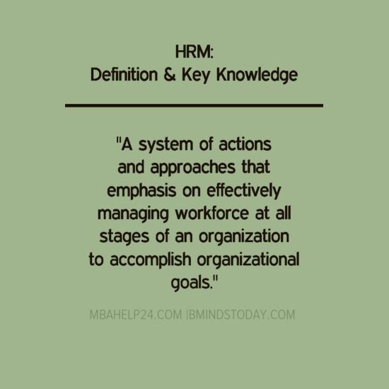 hrm-definition