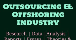Outsourcing and Offshoring Industry- MBA industry Industry – Sector Outsourcing and Offshoring Industry 300x160