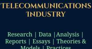 Telecommunications Industry- MBA Telecommunications Management industry Industry – Sector Telecommunications Industry