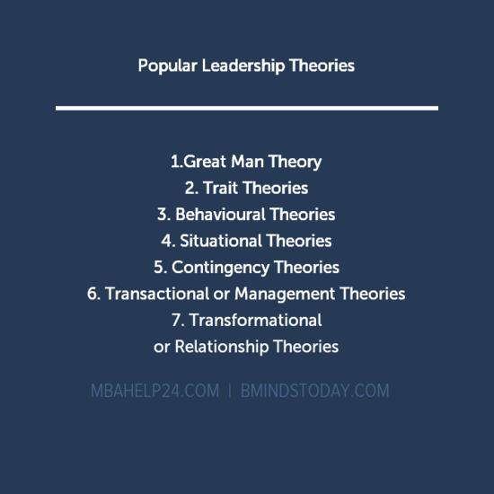 leadership-theories