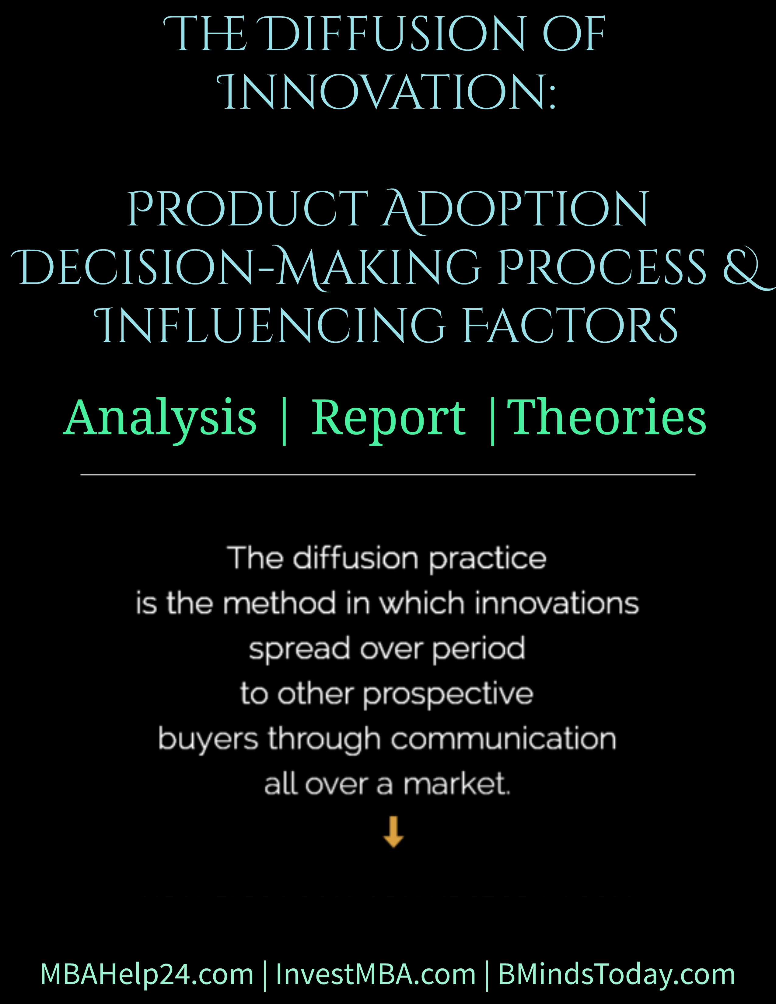 The Diffusion of Innovation: Product Adoption Decision-Making Process & Influencing Factors diffusion The Diffusion of Innovation | Product Adoption | Decision-Making & Influencing Factors The Diffusion of Innovation Product Adoption Decision Making Process and Influencing Factors