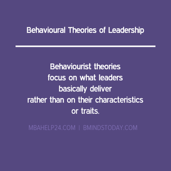 behaviorial-theories-of-leadership