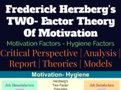 Frederick Herzberg's Two-Factor Theory of Motivation | Motivation-Hygiene