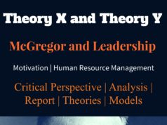 McGregor Theory X and Theory Leadership and motivation theory