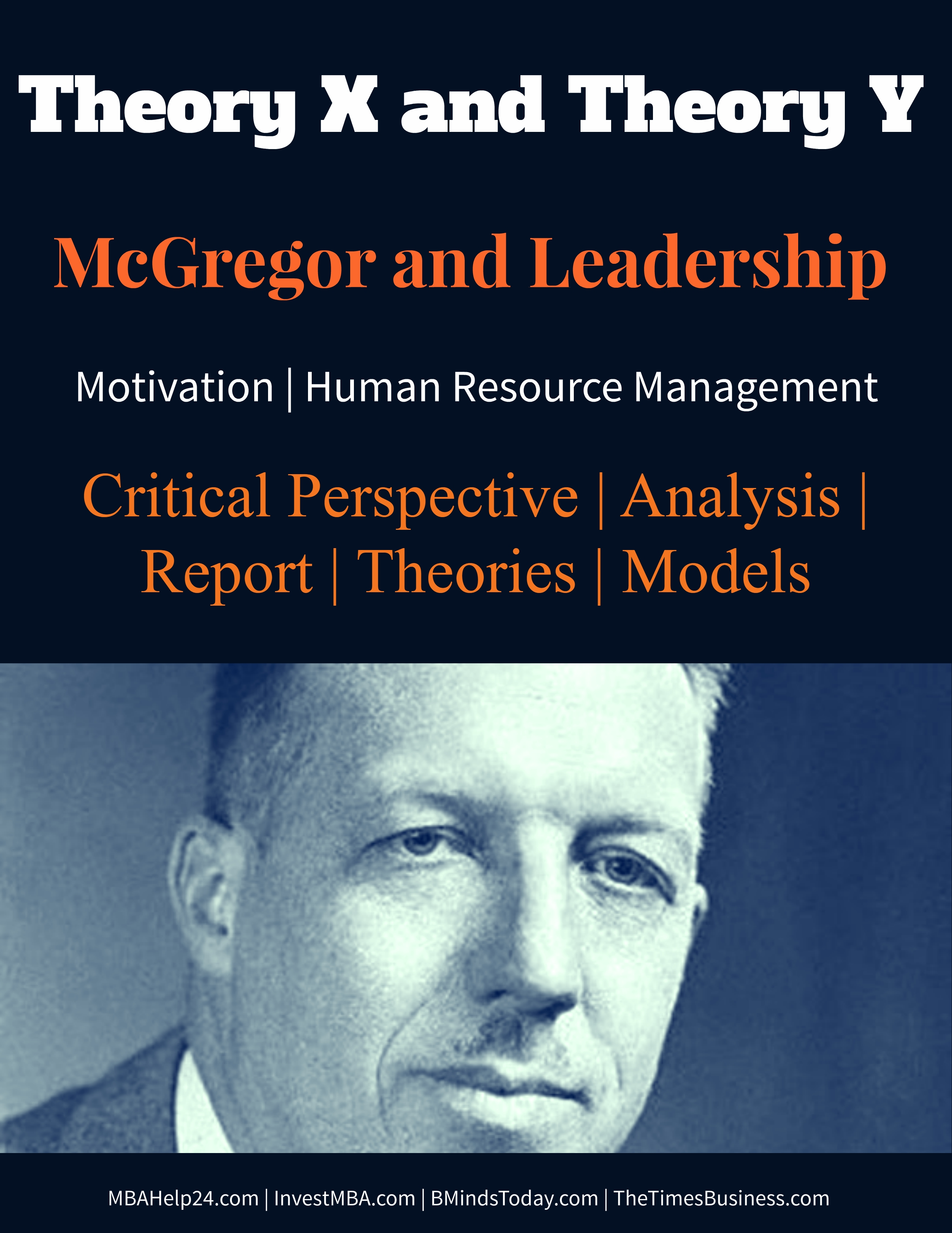 McGregor Theory X and Theory Leadership and motivation theory theory x Theory X and Theory Y | McGregor and Leadership | Motivation | HR McGregor Theory X and Theory Leadership and motivation theory