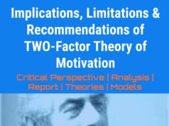 Implications, Limitations & Recommendations of TWO-Factor Theory of Motivation