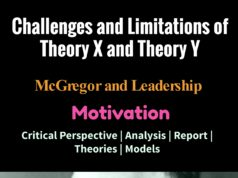 limitations of mc gregor theory x and theory y