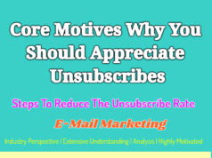 Core Motives Why You Should Appreciate Unsubscribes | Steps To Reduce The Unsubscribe Rate knowledge centre Knowledge Centre For Entrepreneurs Core Motives Why You Should Appreciate Unsubscribes Steps To Reduce The Unsubscribe Rate 238x178