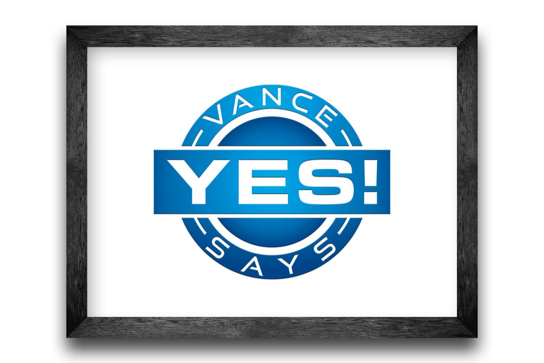 Vance Says Yes Badge
