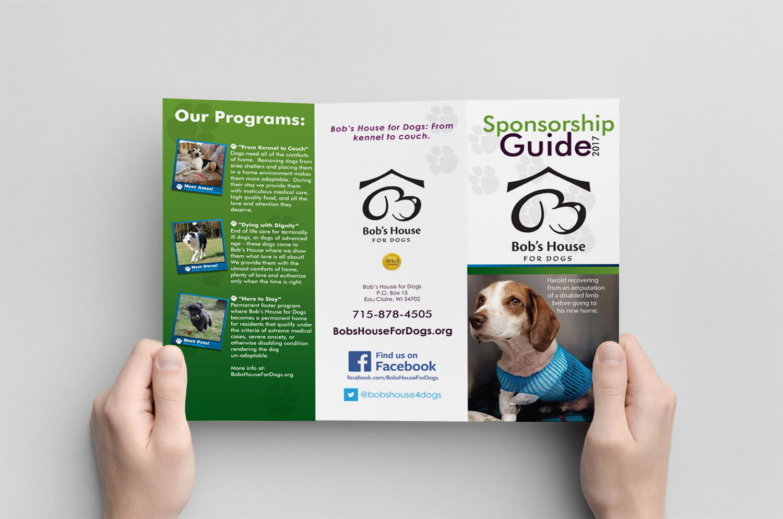 Bob's House for Dogs Sponsorship Brochure