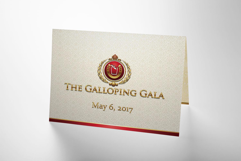 Galloping Gala Invitation