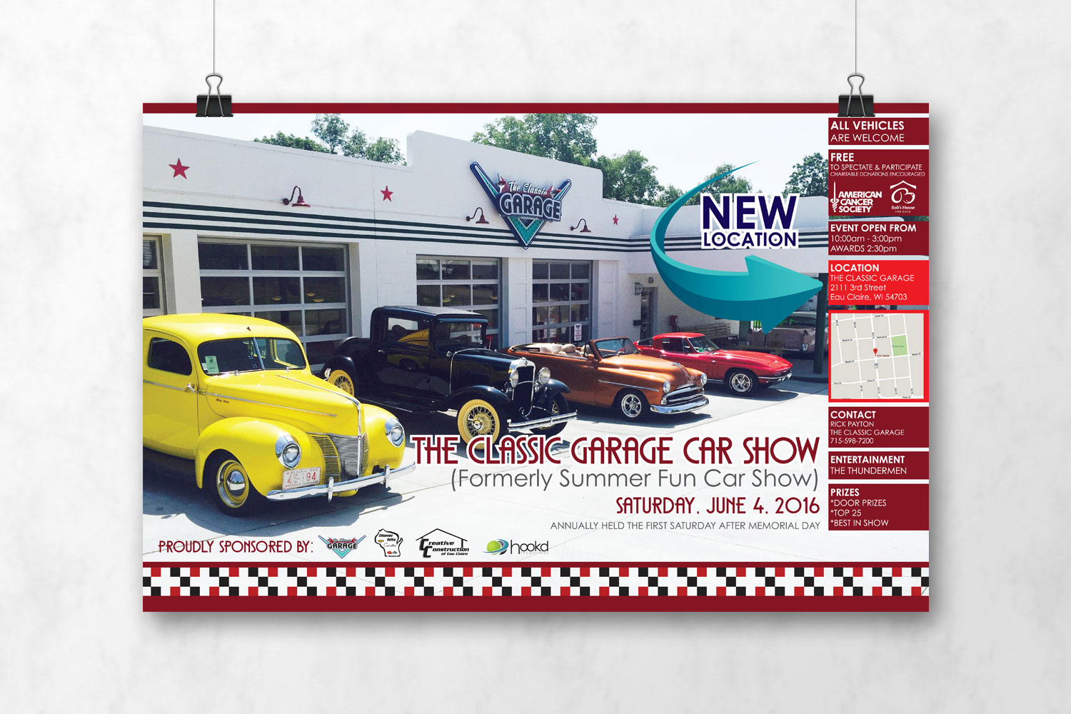 Classic Garage Poster