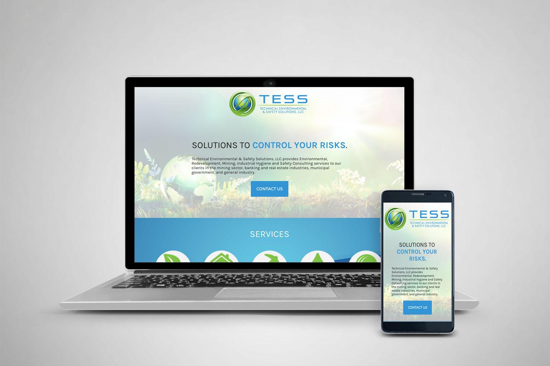 Tess Landing Page