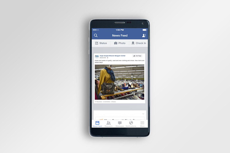 Hope Facebook Ad