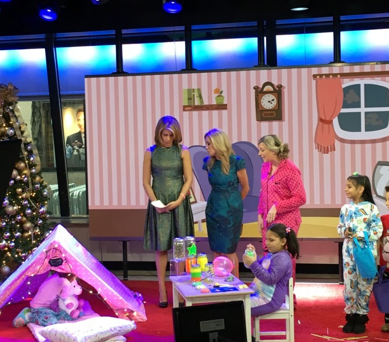 A Slumber Party with Kathie Lee, Hoda and Me on The Today Show