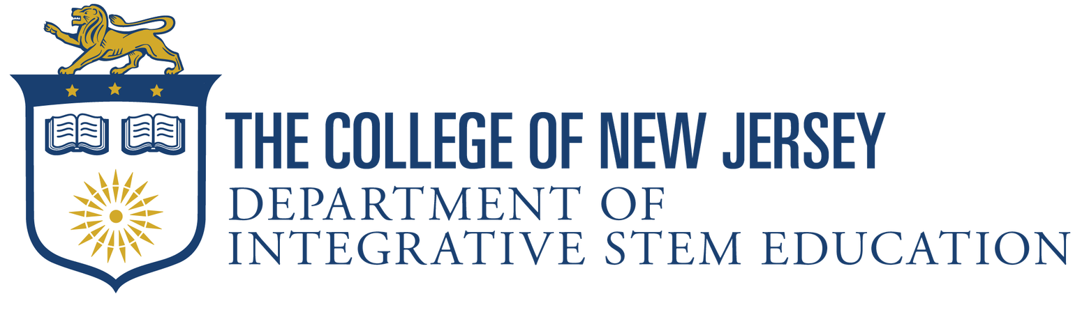 The College of New Jersey - Department of Integrative STEM Education Logo