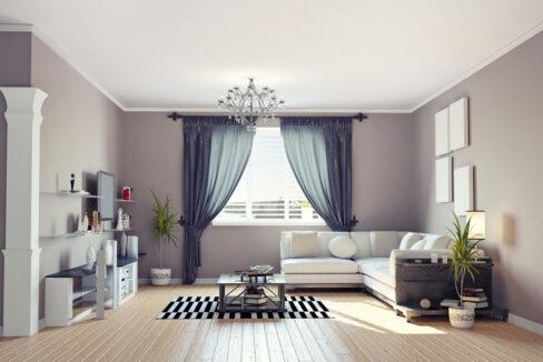 simple living room 01