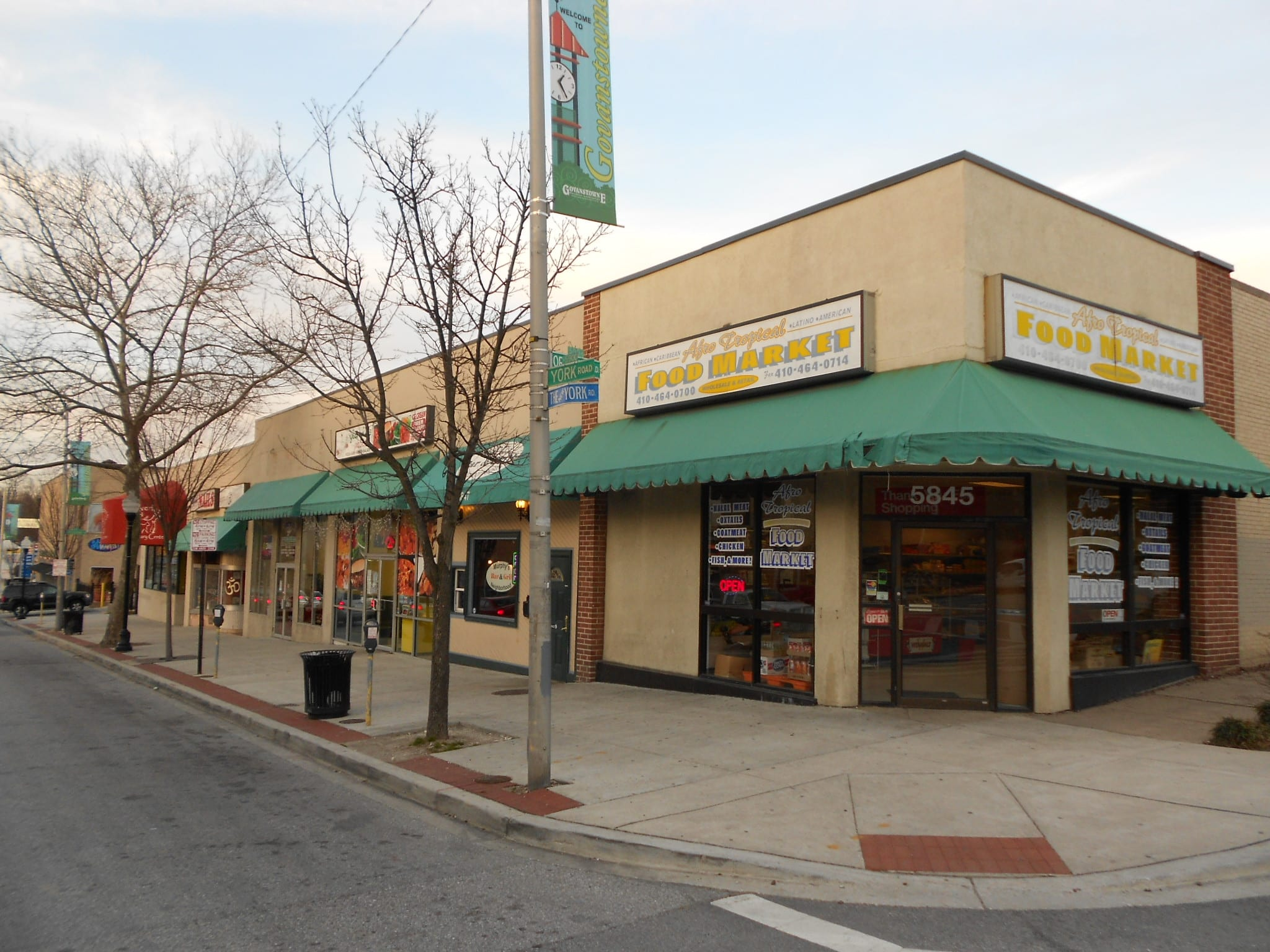 Store For Lease Next To Senator Movie Theatre And Belvedere Square
