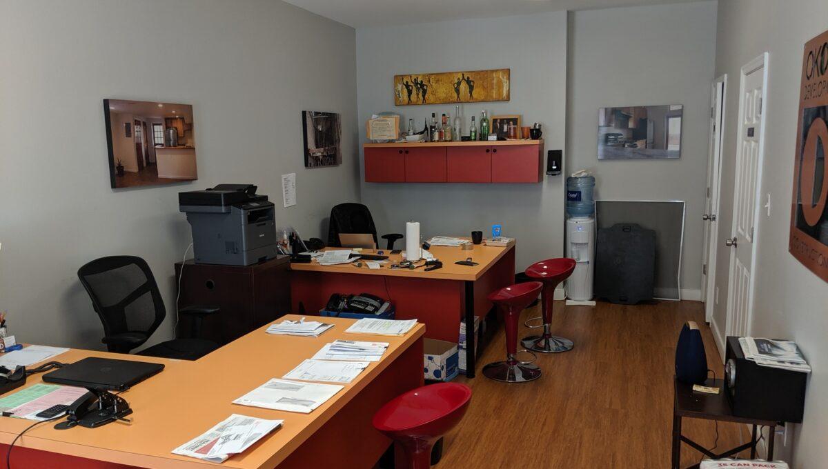 10 first floor office