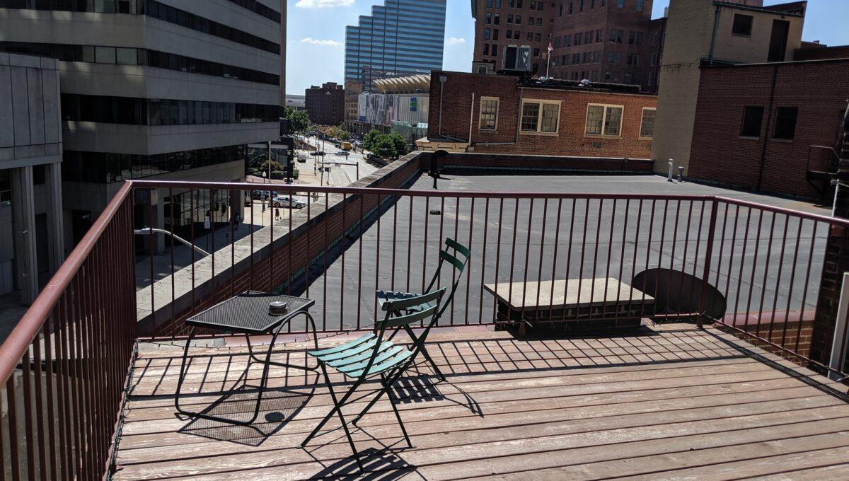 30 rooftop deck