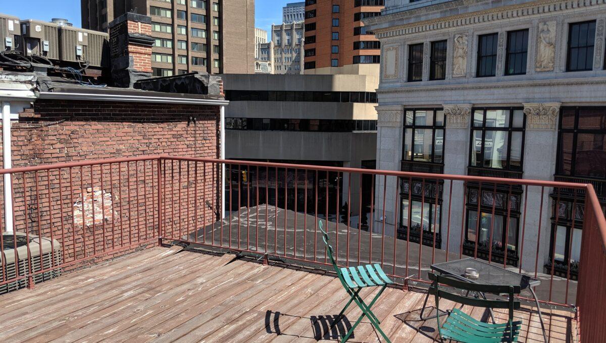 31 rooftop deck