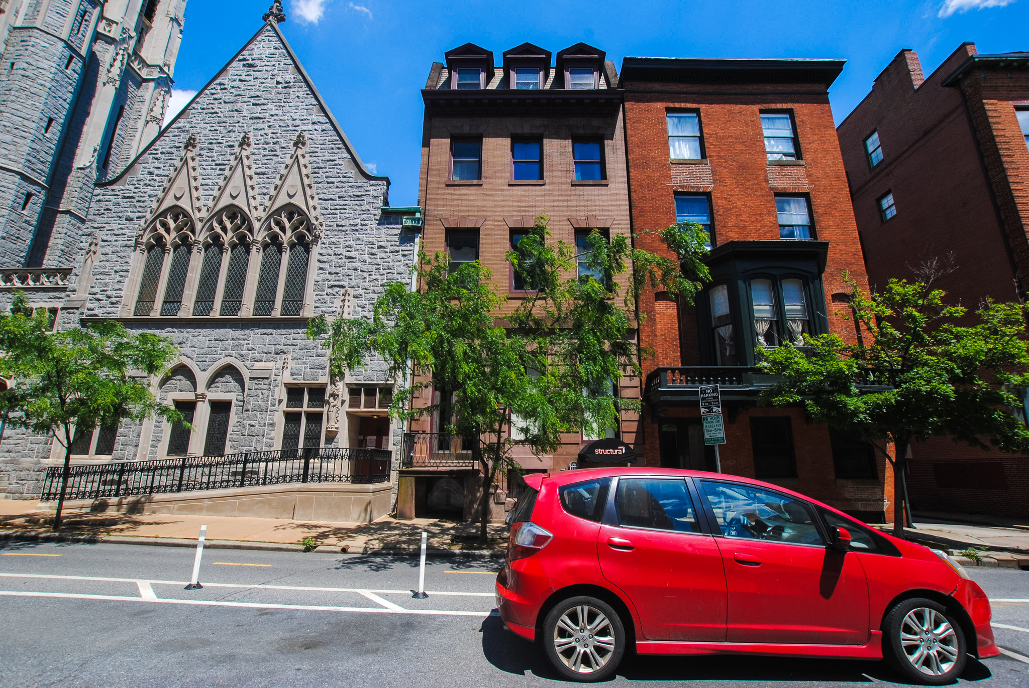 809 Cathedral St. : 6 Apartments/ 2 Office Spaces in the Heart of Historic Mt. Vernon