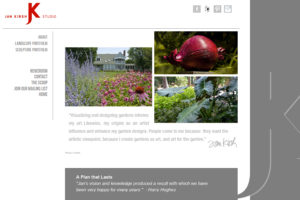 Jan Kirsh Studio Website