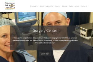 Pittsburgh Eye Institute Website