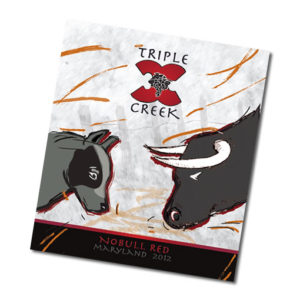 Triple Creek Wine Label