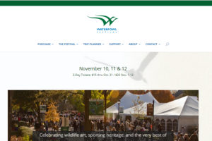 Waterfowl Festival Website