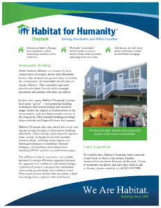 Habitat for Humanity Fact Sheet
