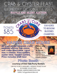 Harris Crab House Poster