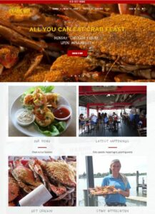 Harris Crab House Website