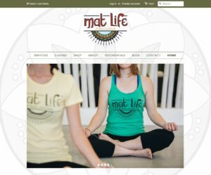 Mat Life Website