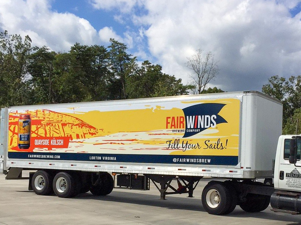 Fairwinds Brewing Co. wrap