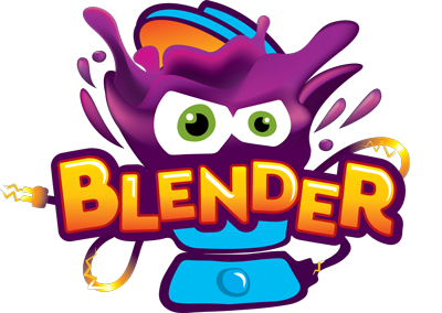 Blender footer logo
