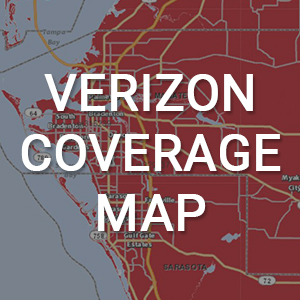 Verizon Coverage Map of the Bradenton Area