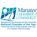 Manatee Chamber of Commerce logo