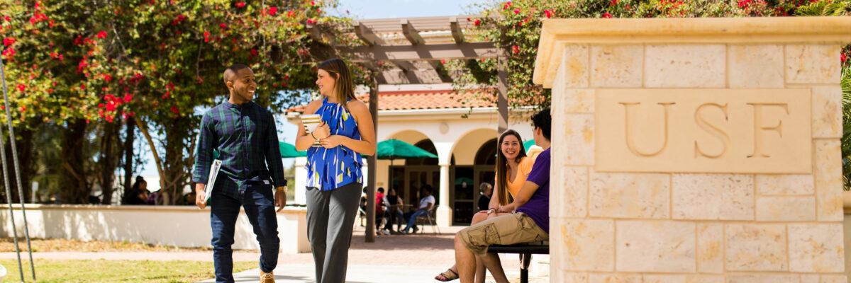 USFSM Students Talking
