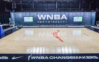 WNBA court at Feld Entertainment