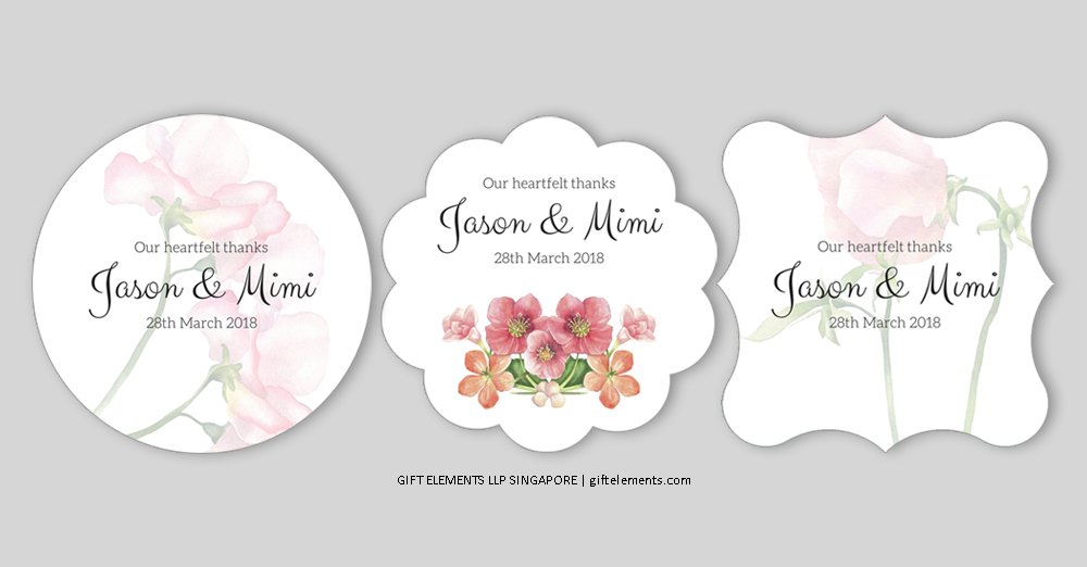 Limited Edition Favor Gift Stickers and Tags