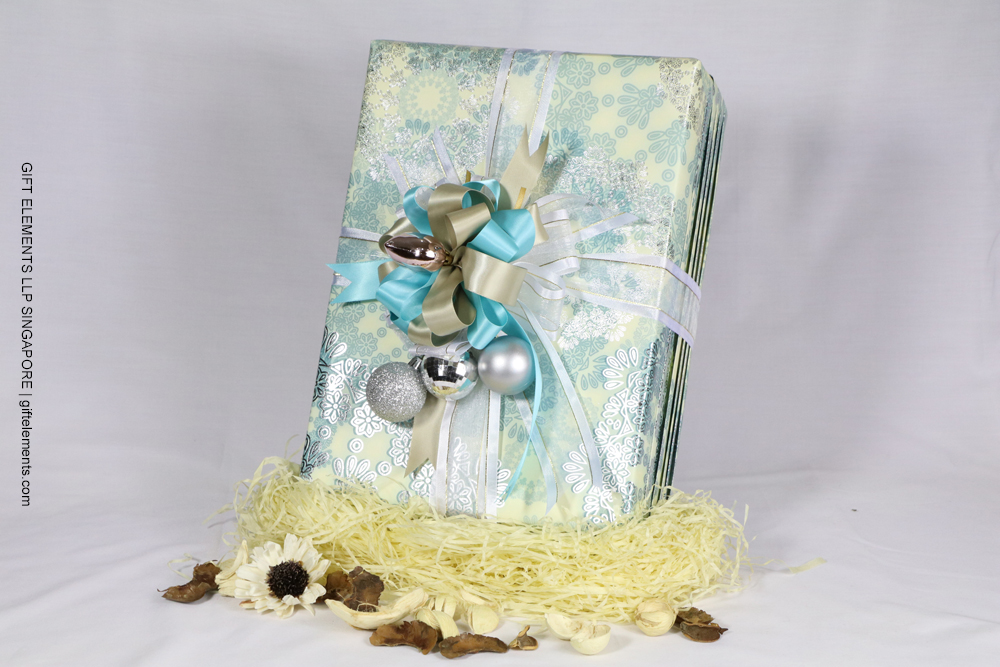 glamorous gift wrapping service  gift elements singapore