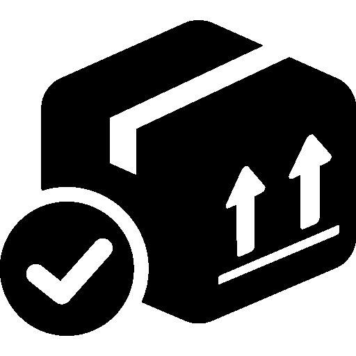 delivered-box-verification-symbol