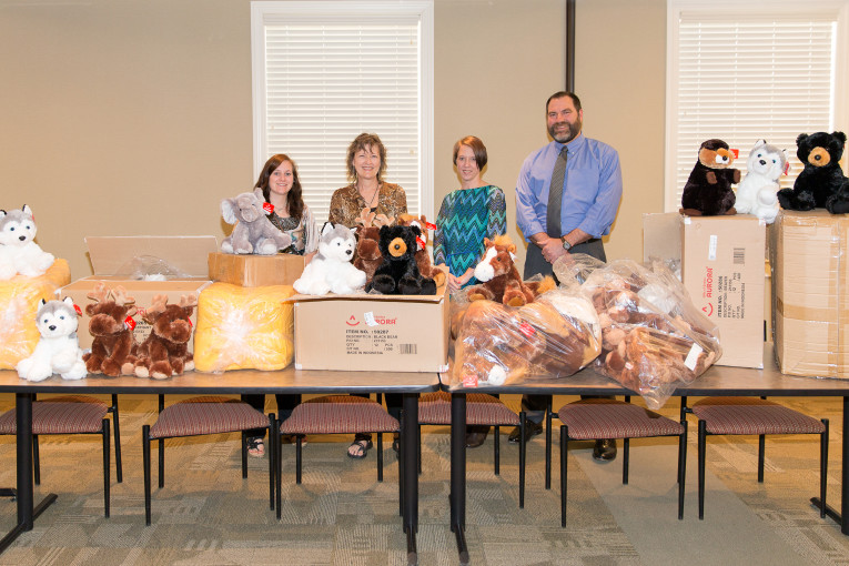 Jackson County Receives Donations from Sleep Tight Kids