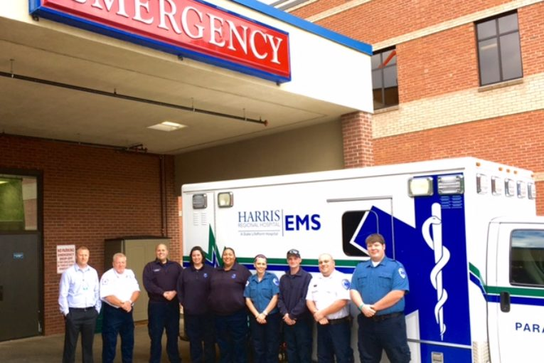 Harris Regional Hospital and Swain Community Hospital celebrate National EMS Week